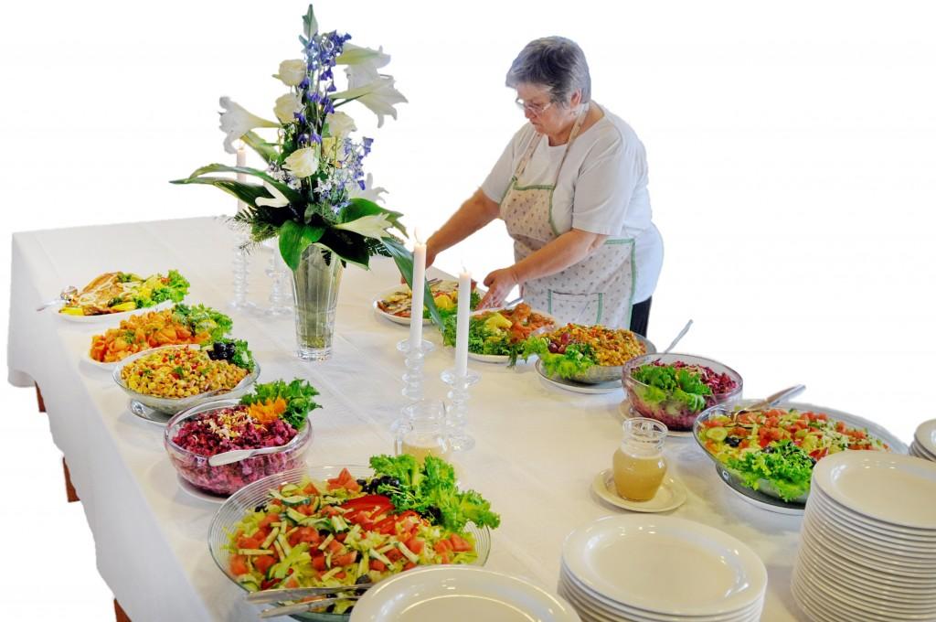 Pitopalvelu ruokailu